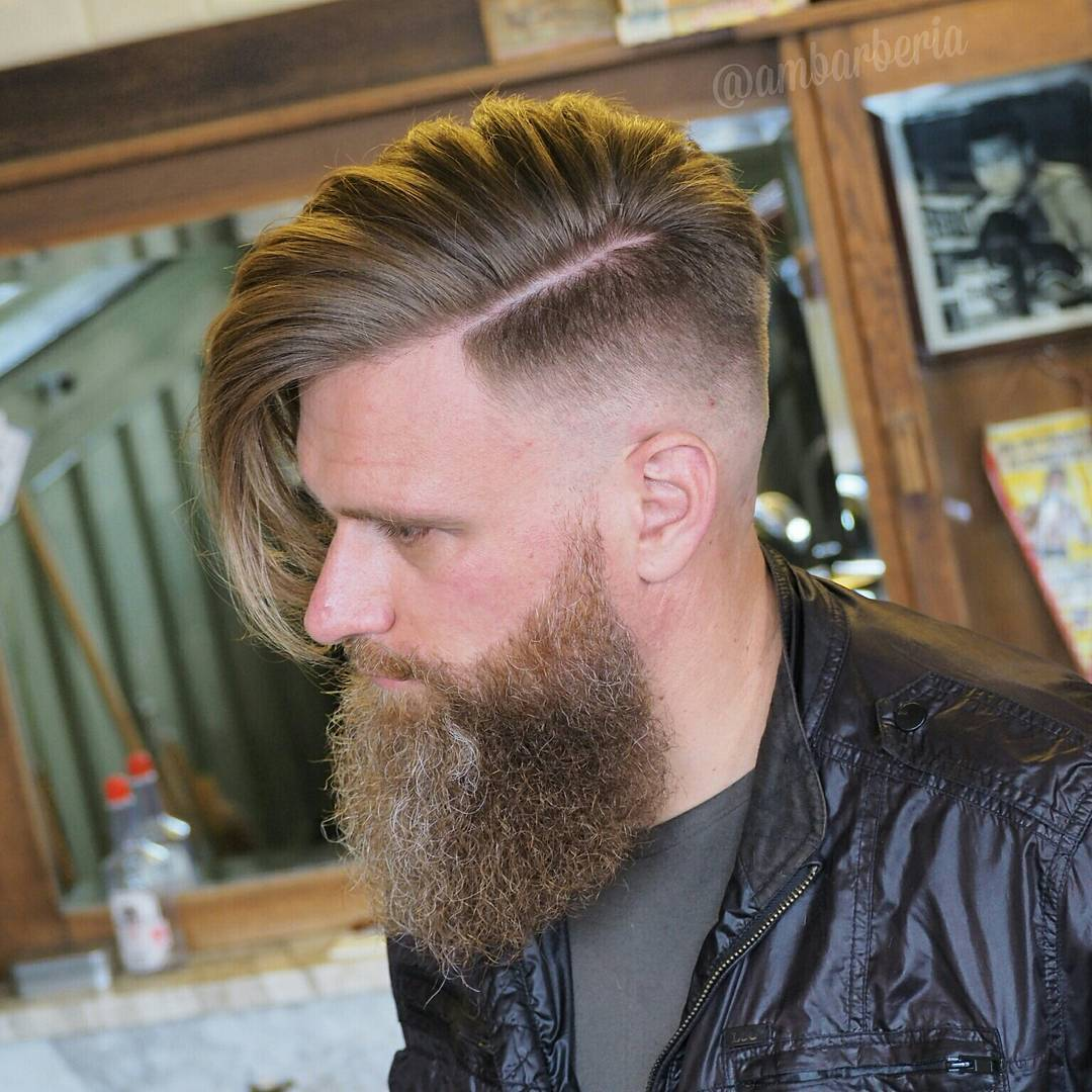 Stylish Undercut Hairstyle for Men 10 - Mariya Adems